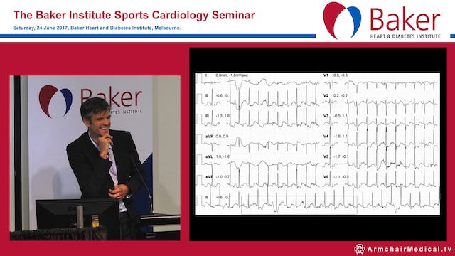 Case: Master athlete with cardiomyopathy Assoc Prof André La Gerche