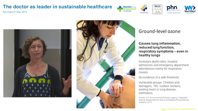 Climate change and health in Western Sydney Dr Sujata Allan