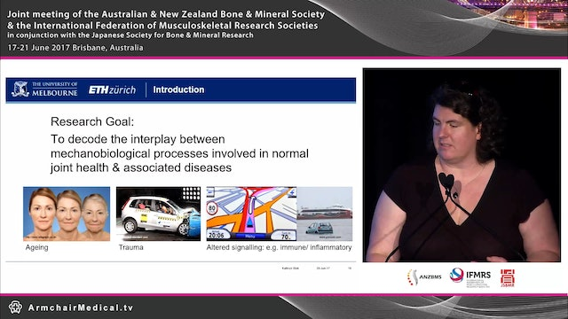 Advances in imaging joint health Dr Kathryn Stok