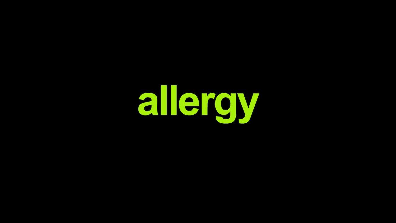Allergy Blurred