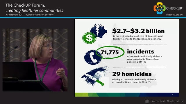 Supporting health professionals to understand and respond to domestic and family violence Joanna Gurd, Queensland Health