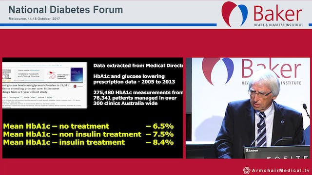 Where are the real unmet needs in the treatment of type 2 diabetes Prof Stephen Colagiuri