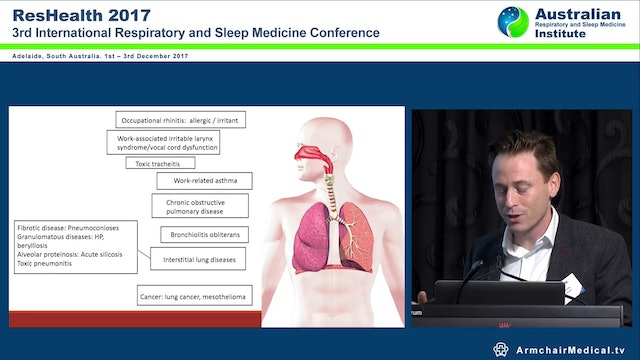 Occupational Lung Disease Dr Ryan Hoy