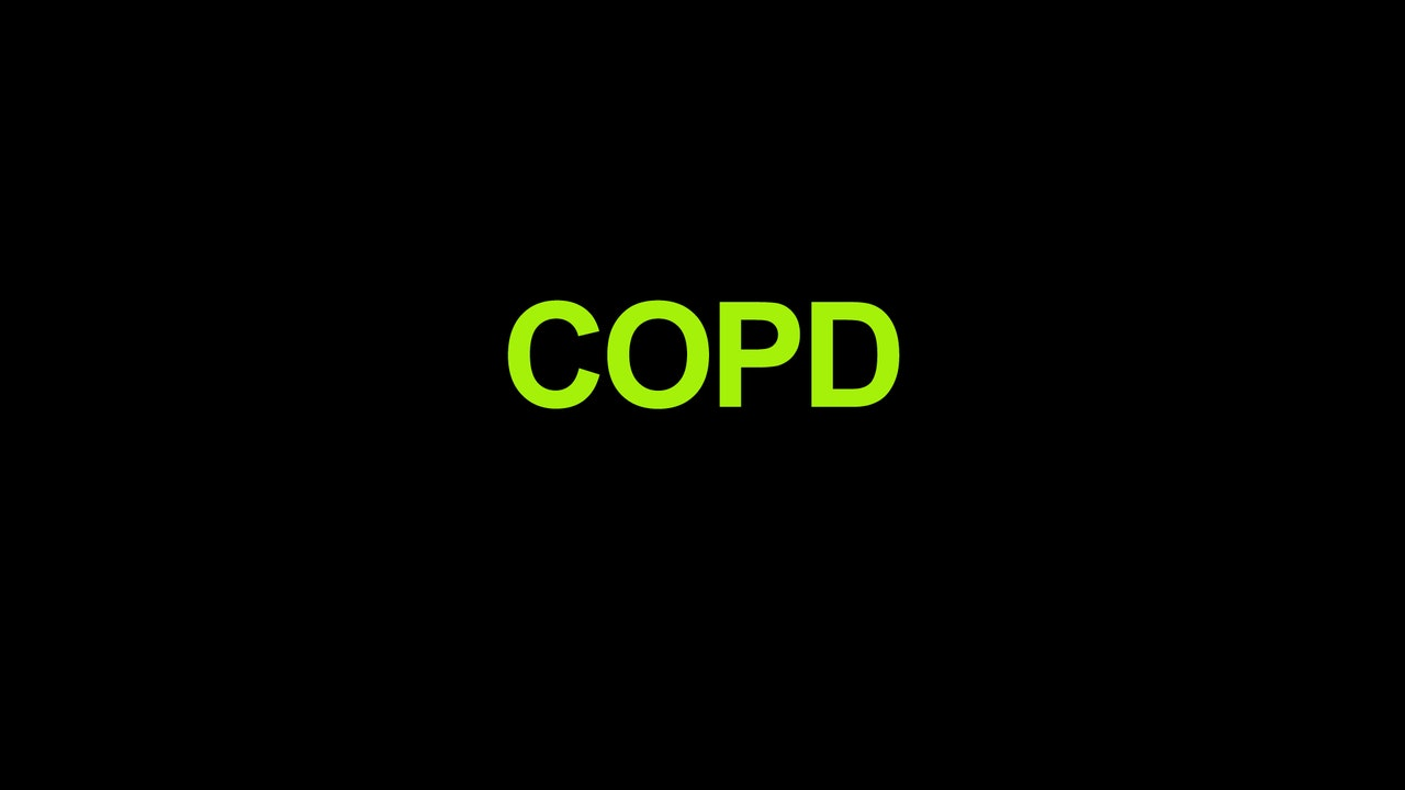 COPD Blurred