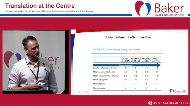 CVD prevention in diabetes Prof Neale...