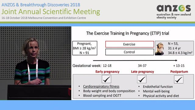 Effects of Exercise training during p...