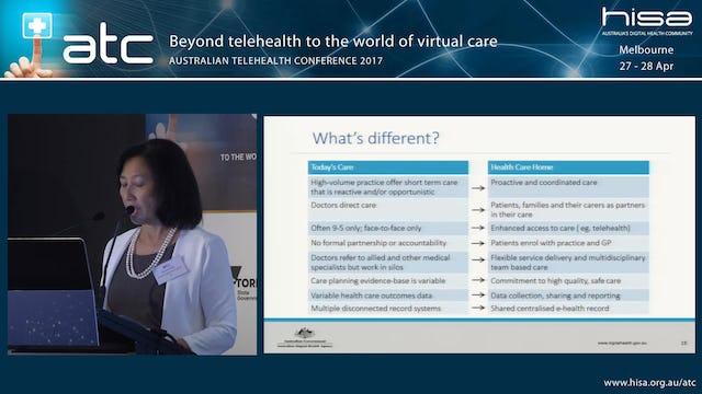 Incentivising telehealth Digital access through Health Care Homes Dr Eleanor Chew