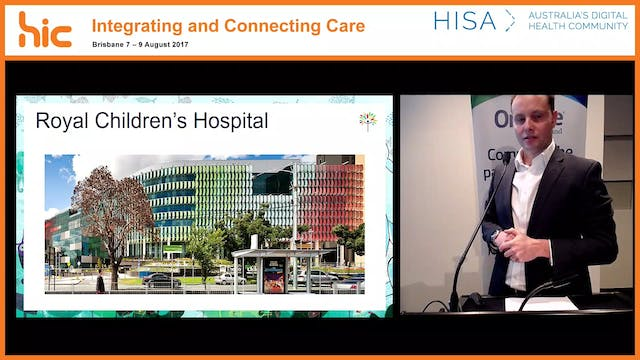 From go-live to HIMSS level 6 in 10 months - The Royal Children's Hospital EMR experience Matthew Thatcher