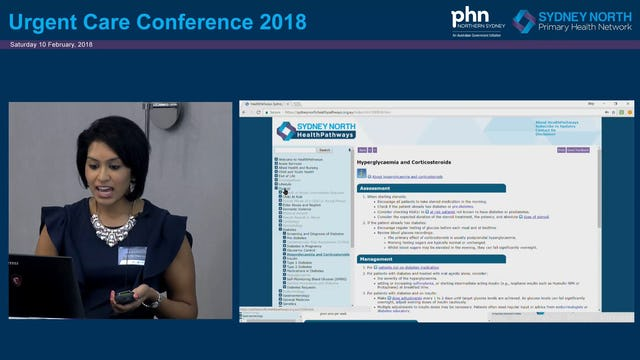 Diabetes Sydney North HealthPathways Dr Darshika Christie-David