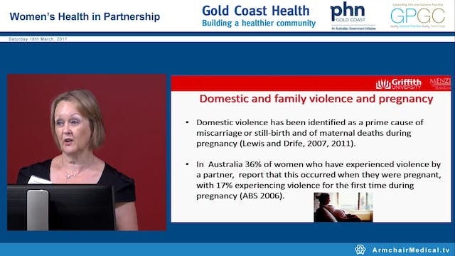 Domestic violence identifying women at risk and responding appropriately Dr Kathleen Baird & Kym Tighe