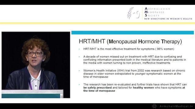 How to do HRT MHT Dr Jane Elliott