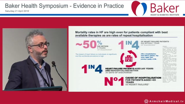 Heart Failure with reduced ejection fraction Case studies Assoc Prof Christopher Neil