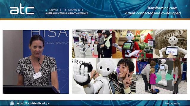 Social robotics in health applications Belinda Ward Project Leader, QUT