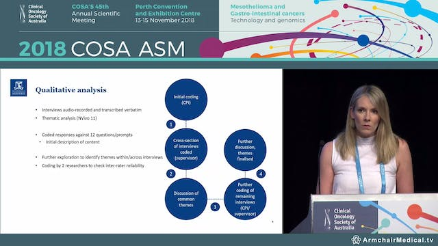 Nutritional impact of a gastroenteropancreatic neuroendocrine tumour from a patient's perspective - Erin Laing