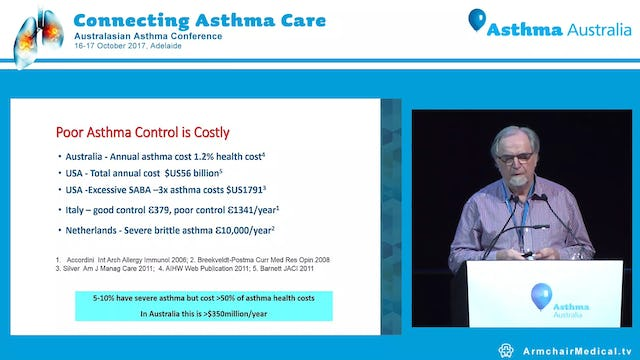 Severe asthma Paradigms & treatments, old and new Prof Philip Thompson