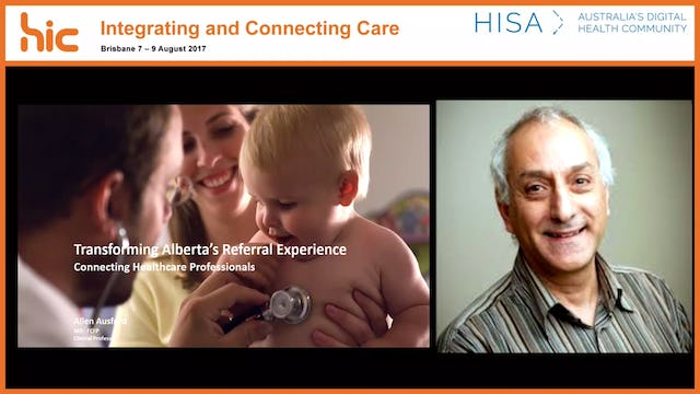 Transforming Alberta's referral experience Connecting healthcare professionals Dr Allen Ausford
