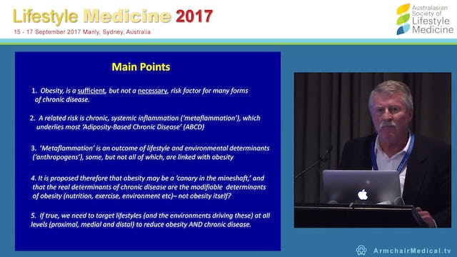 Is obesity really the problem Prof Garry Egger