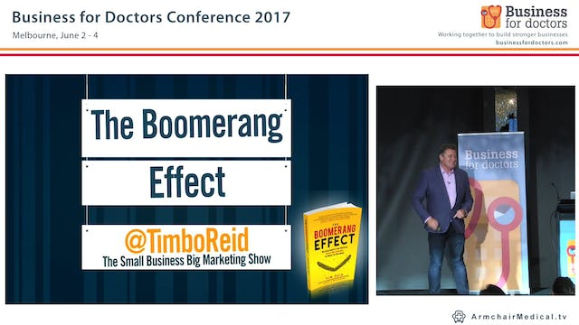 The Boomerang Effect Tim Reid