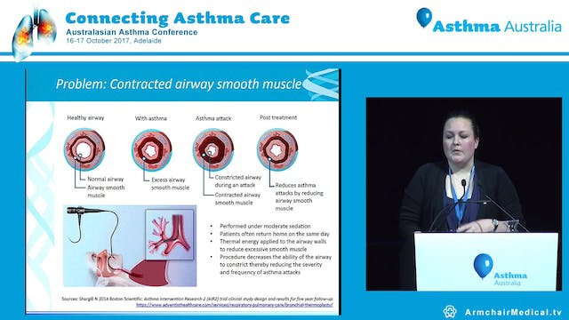 Asthma and innovative technology Dr Kristin Carson-Chahhoud