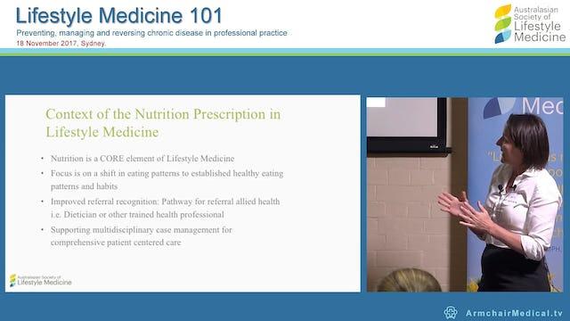 Nutrition Introduction & Prescription Sally Mathrick BA (Meb) BNat (SCU)