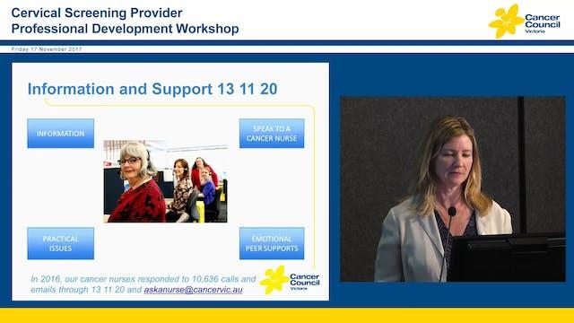 Cancer Council Victoria Clare O'Reilly
