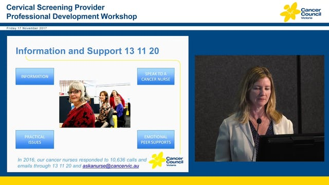 Cancer Council Victoria Clare O'Reilly