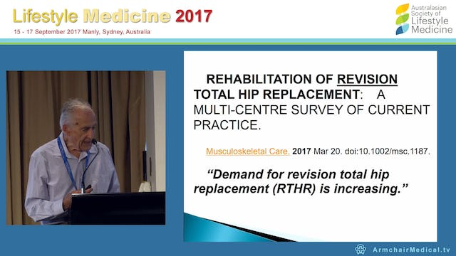 THRs increasing in ageing population Dr Conrad Robert Winer