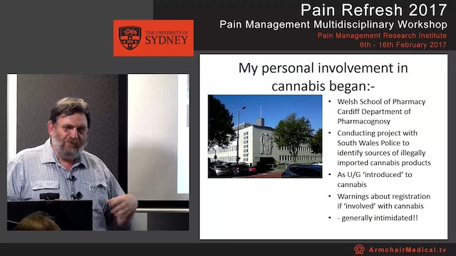 Cannabis and Persistent Pain Mr Tony ...