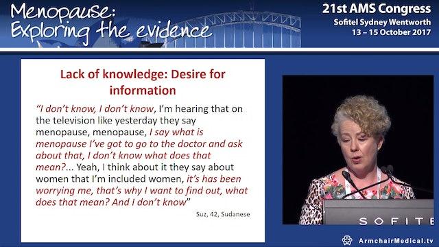 Menopause in multi-cultural Australasia Prof Jane Ussher