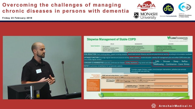 Management of COPD in people with dem...