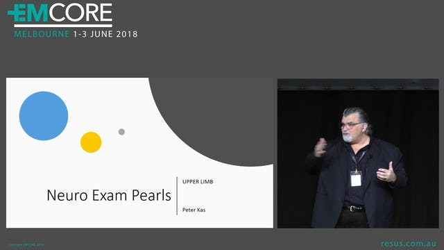 Neuro Exam Pearls Upper Limb Assoc Prof Peter Kas