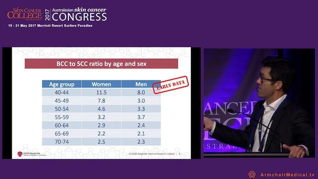 Keratinocyte carcinomas An update on recent epidemiologic findings David Whiteman