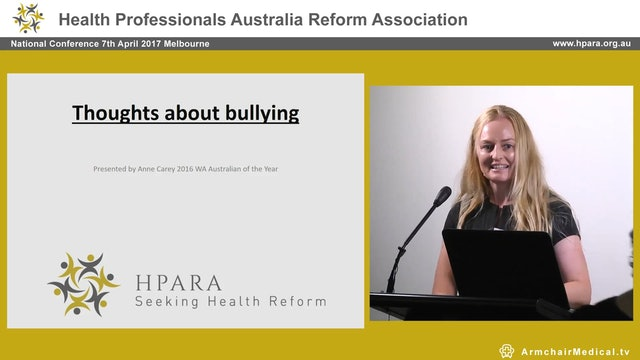 A Kinder approach to Workplace Bullying Ann Carey
