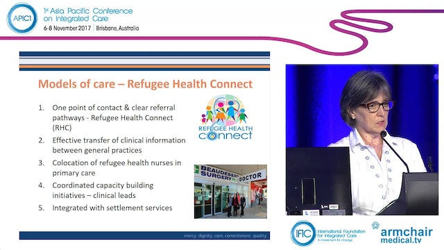 The refugee health and wellbeing journey in Queensland Caroline Nicholson