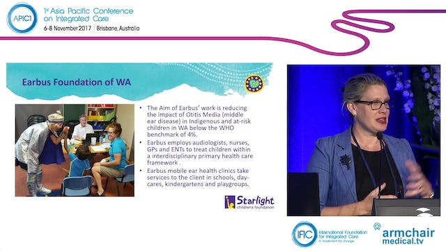 Starlight's healthier futures initiative A partnership model supporting health care delivery to Indigenous children and adolescents Dr Claire Treadgold