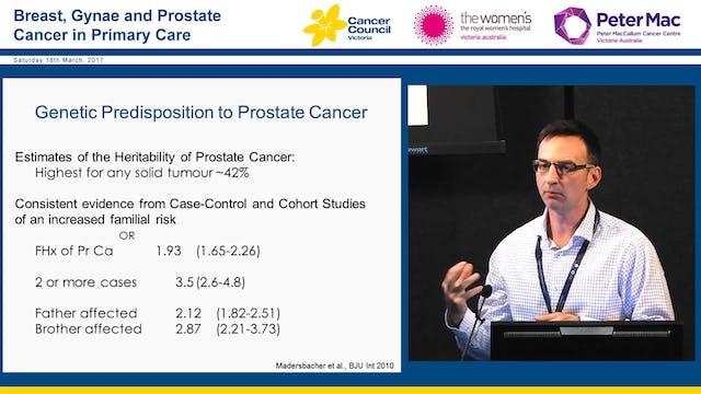 Cancer genetics and risk management Assoc Professor Paul James