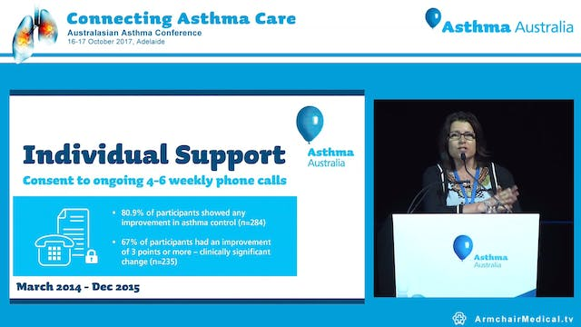 The Asthma COACH Program – what we are learning Ms Paula Murray