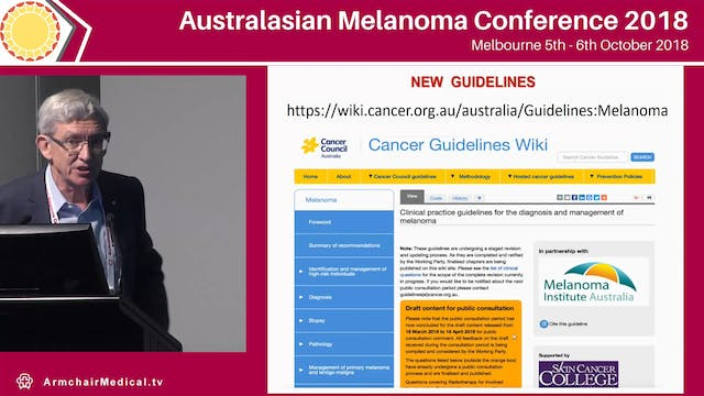 Ensuring the quality of melanoma care...