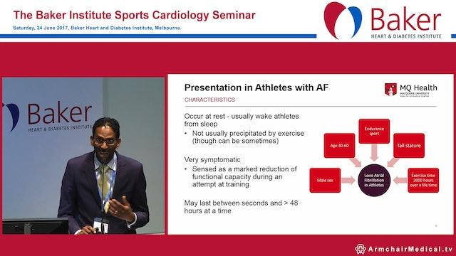 Management of AF in athletes Dr Hari Raju