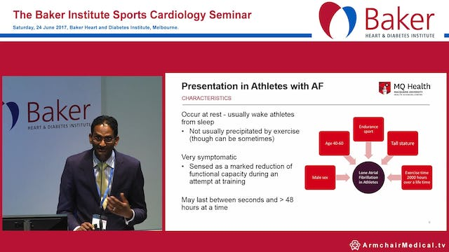 Management of AF in athletes Dr Hari Raju