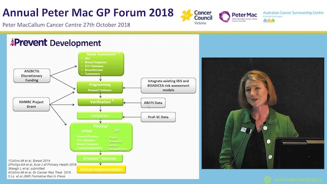 Breast Cancer Risk Assessment and Management in General Practice Prof Kelly-Anne Phillips