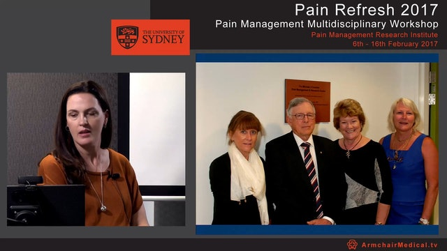 Diagnostic procedures in chronic pain Dr Rebecca Martin
