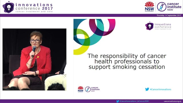 Panel Discussion - The responsibility of cancer health professionals to support smoking cessation