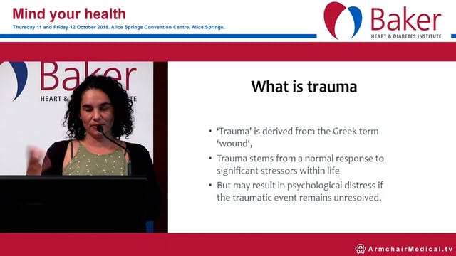 Trauma informed services care for Aboriginal children Danielle Dyall