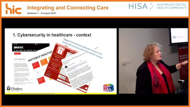 Overview of cybersecurity and the Community of Practice Prof Trish Williams