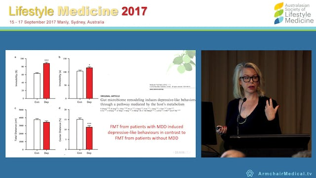 Diet and gut microbiota in depression and brain health Prof Felice Jacka