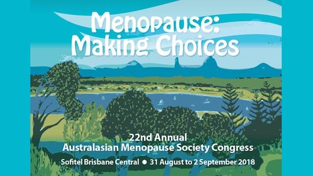 Australian Menopause Conference 2018