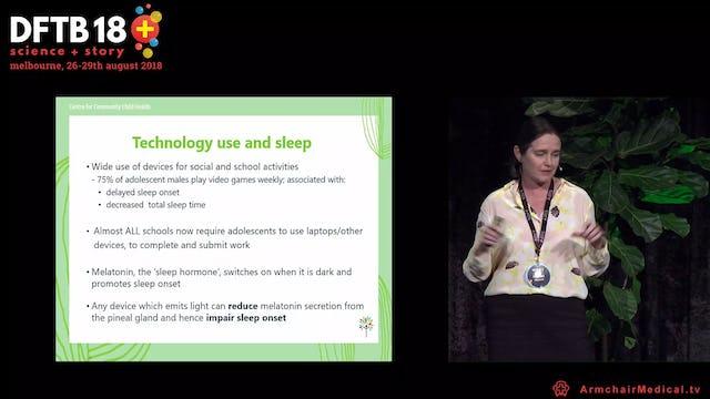 Move over melatonin! Evidence-based behavioural sleep strategies Harriet Hiscock