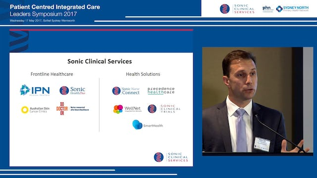 Welcome address Mr Scott Beattie, CEO Health Solutions, Sonic Clinical Services