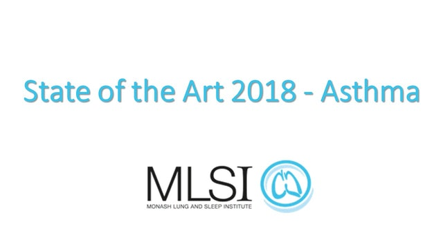 Asthma State Of the Art 2018